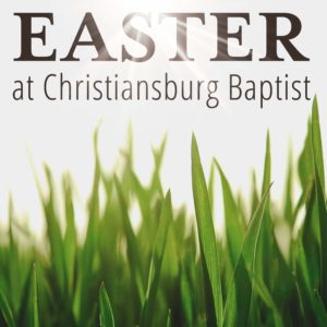 Easter 2017 Service Times