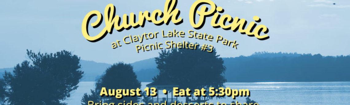 Claytor Lake Picnic